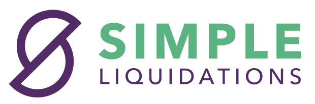 transparent simple liquidation logo